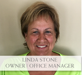 Linda stone, Office Manager Small Animal Vet Clinic North side Evansville